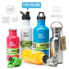 Thanks to @Klean Kanteen for sponsoring the #MadMarathon! We'll be sure to bring our bottles to fill up at the hydration station!