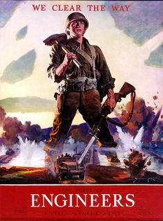 World War II Recruiting Poster by US Army Garrison Fort Belvoir, via Flickr