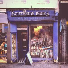 Southside Books | 16 Dreamy Edinburgh Bookshops Every Book Lover Must Visit