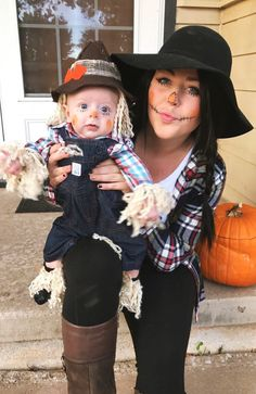 Mom and son Halloween costume