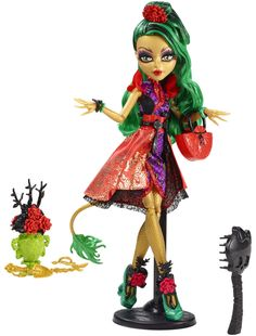 WANTED: Monster High Gloom and Bloom: Jinafire Long