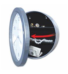 Hidden Safe Wall Clock  $15.99