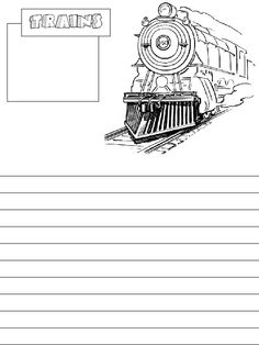 10 free train notebook pages along with 2 additional pages at the end and a fun drawing activity (FreeHomeschoolDeals.com)