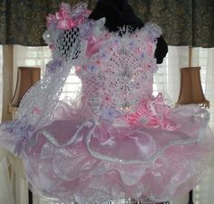 National Glitz Pageant Dress Custom Order by Nana Marie Designs Pagent Dresses For Girls, White Pageant Dresses, Purple Bridesmaid Dresses, Little Girl Dresses, Party Dresses, Tutu Dresses, Bridesmaids, Glitz Pageant, Pageant Wear