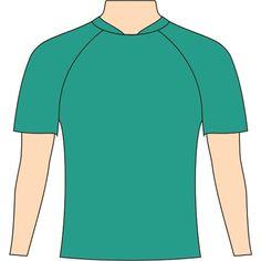 Molde de Camiseta Esportiva de Futebol