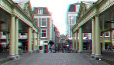 https://flic.kr/p/NvtoPn | Koornbrug Leiden 3D | anaglyph stereo red/cyan
