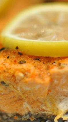 Spicy Lemon Salmon (in the Instant Pot)