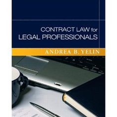 Contract Law for Legal Professionals