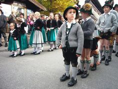 traditional german costumes