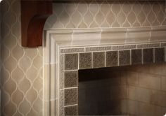 Luxury Fireplace Tile | Sonoma Tilemakers...reinvent your fireplace with a timeless neutral color palette.