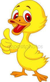 Illustration of Cute baby duck cartoon thumb up vector art, clipart and stock vectors. Duck Cartoon, Cartoon Birds, Baby Cartoon, Cartoon Drawings, Animal Drawings, Duck Illustration, Cartoon Download, Cute Couple Cartoon, Kids Background