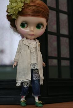 I love this kind of Blythe style! Spring Coat by SATOMI (HANON), via Flickr