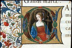 Catherine of Alexandria Yates Thompson 29   f. 27v