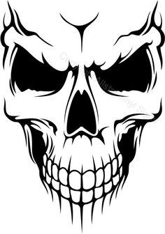 Decals - Stickers - Vinyl Decals - Car Decals for Windows, Vehicle Windows, Vehicle Body Surfaces, Motorcycles or just about any surface! Airbrush, Stencil Art, Sketches, Skull, Art Drawings, Skull Stencil, Art, Skulls Drawing, Stencils