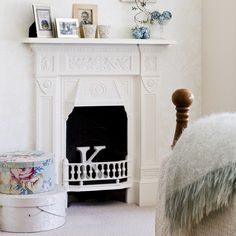 Children's bedroom fireplace | Fireplace decorating ideas | PHOTO GALLERY | 25 Beautiful Homes | Housetohome