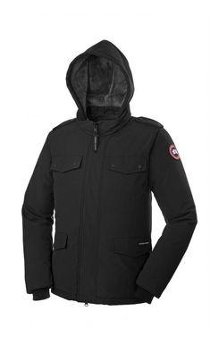 Canada Goose Burnett Jacket Black Men - Canada Goose #canadagoose #parka #jacket #fashion #Halloween #blackFriday