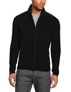 Kenneth Cole Men`s Full-Zip Mock-Neck Sweater $40.99 #topseller