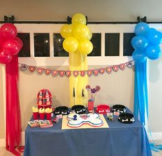Paw Patrol Birthday Party!