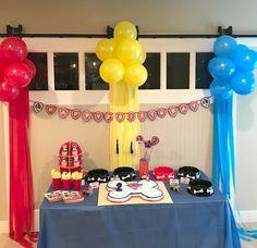 Paw Patrol Birthday Party!