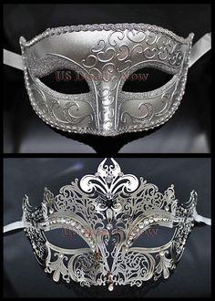 MANY Matching Couple Phantom Elegant Venetian Masquerade Mask for MALE & FEMALE $33.99 free shipping