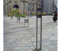 guyon mobilier urbain potelet metal kubic protection voirie version PMR / guyon…