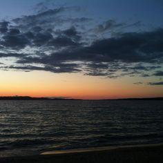 Torch Lake, MI sunset...