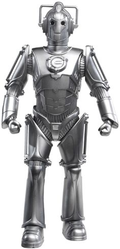 When I was a kid the Cybermen weren't quite as scary as the Daleks but it was marginal.
