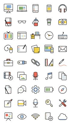 Dashel - A Web Workers Icon Set