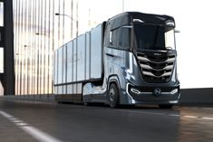 Nikola is going public to try to become the first zero-emission big rig company cars luxury car quotes living in car car ride quotes decorating car car rides on car in the car car ideas New Holland, Jeep Wagoneer, Jeep Grand Cherokee, Semi Trucks, Big Trucks, Nikola Truck, Electric Truck, Tesla Model X, Ford