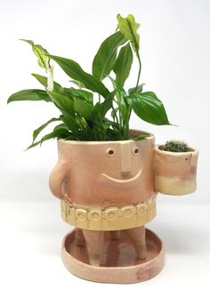 Vasi in ceramica - The TerraTiny Family - Max Schiavetta Planter Pots, Art, Art Background, Kunst, Performing Arts, Art Education Resources, Artworks
