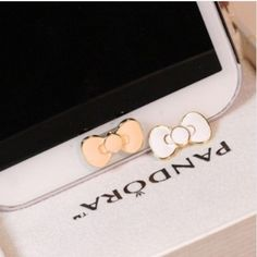 MINI ORDER USD10(mixed) Home Button Sticker Bow diy mobile phone decoration for Samsung Galaxy S3 S4 Note 2 US $1.99