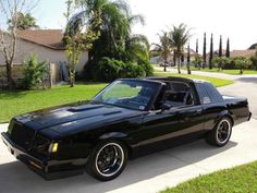 1987 Buick Grand National, Old School Muscle Cars, Turbo Car, Buick Regal, Wide Body, Performance Cars, All Cars, American Muscle Cars, Sport Cars
