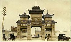 Palacio Chino, poco después de su inauguración en 1921.
