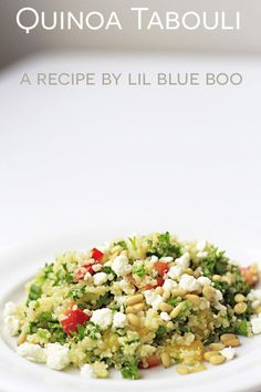 Quinoa Tabouli (or Tabouleh) Recipe - Lil Blue Boo