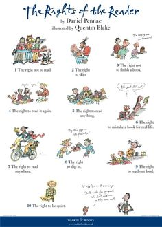 The Rights of the Reader Poster