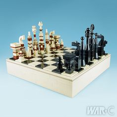 There are many LEGO chess sets, and here's another excellent one