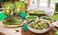 "Cristina Cooks: ""Lucky"" Pesto Pasta"