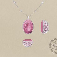 Design by @tiffanyandco #jewelryrendering #jewelrydesigner #jewelrydesign…