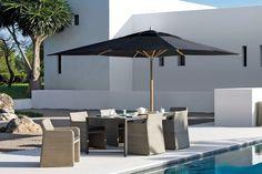 Un parasol simple pour mon salon de jardin