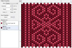 Beading: Peyote Stitch Pattern 31