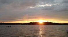 Sunset on the lake - SML