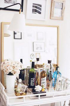 A Beautiful Weekend & A Few Lovely Links #glass #bottle