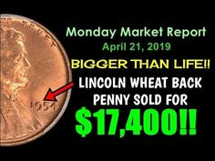 Welcome to the Monday Market Coin Report where we look at the biggest and most notable Valuable Pennies, Rare Pennies, Valuable Coins, Big Coins, Sentiment Analysis, Marketing Report, Rare Coins Worth Money, Coin Worth, Coin Values