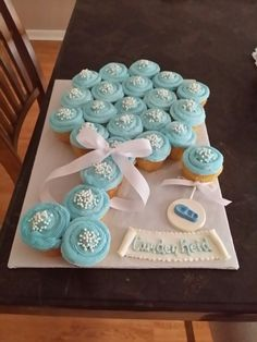 Baby Buggy Cupcake Cakethese Are The Cutest Pull Apart Cake Ideas