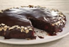Chocolate-Cherry Skillet Cake/Pampered Chef recipe :)
