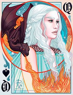 Daenerys Targaryen - Game of Thrones - Rebecca Lemker