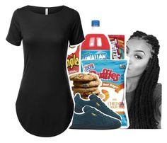 """Because food is LIFE."" by jordanlife24 ❤ liked on Polyvore featuring Puma"