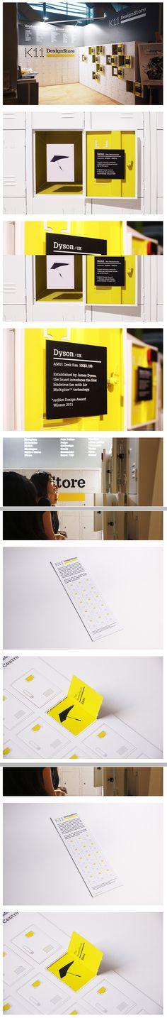 exhibition display Environmental Graphic Design, Signage Sistems, Interior wayfinding, señaletica para empresas, diseño de locales comerciales Canton Crossing | #Wayfinding | #Signage