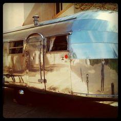 airstream camper trailer