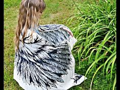 """Scarf - """"White angel wings"""" - YouTube"""